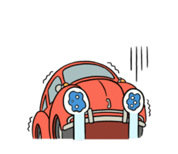Aircooled mania (English) sticker #3137576