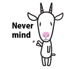Oh My Goat!! sticker #3137762