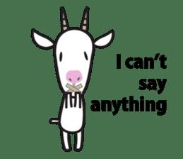 Oh My Goat!! sticker #3137772