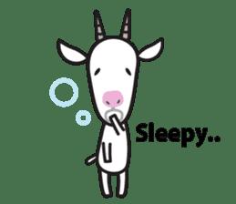 Oh My Goat!! sticker #3137775