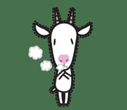 Oh My Goat!! sticker #3137780