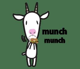 Oh My Goat!! sticker #3137789