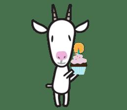 Oh My Goat!! sticker #3137790