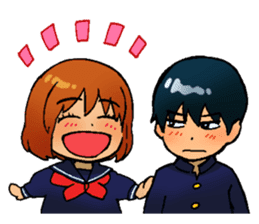 Gingitsune Makoto and friends version sticker #3138459
