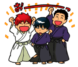 Gingitsune Makoto and friends version sticker #3138464
