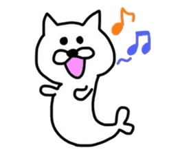 Seal and Cat sticker #3142767