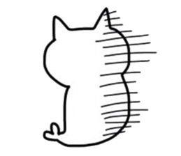 Seal and Cat sticker #3142778