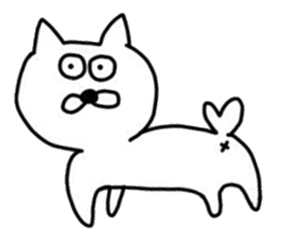 Seal and Cat sticker #3142791