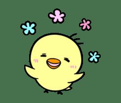 kawaii! Chicken and chick! sticker #3143116