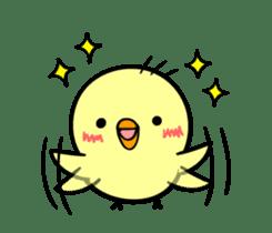 kawaii! Chicken and chick! sticker #3143119