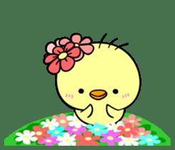 kawaii! Chicken and chick! sticker #3143147