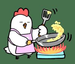 kawaii! Chicken and chick! sticker #3143152