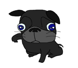I am Pug sticker #3148906