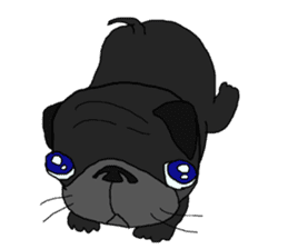 I am Pug sticker #3148923