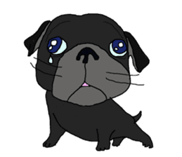 I am Pug sticker #3148937