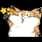 สติ๊กเกอร์ไลน์ Sesame Fox