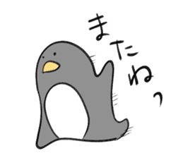 slime pig and penguin sticker #3164866