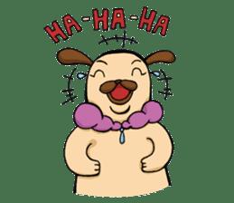 Lady Pug sticker #3168516
