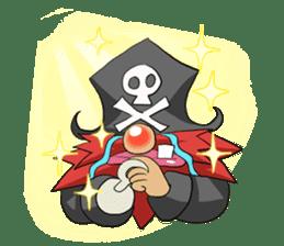 Pirate - Red Beard part3 sticker #3170071