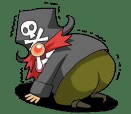 Pirate - Red Beard part3 sticker #3170072
