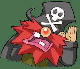 Pirate - Red Beard part3 sticker #3170073