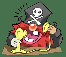 Pirate - Red Beard part3 sticker #3170074