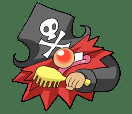 Pirate - Red Beard part3 sticker #3170075