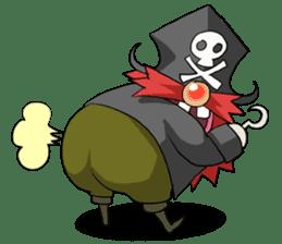 Pirate - Red Beard part3 sticker #3170076