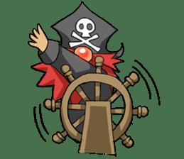 Pirate - Red Beard part3 sticker #3170077