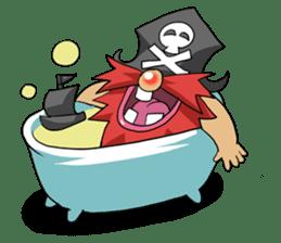 Pirate - Red Beard part3 sticker #3170078