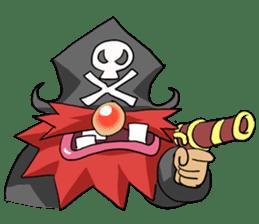 Pirate - Red Beard part3 sticker #3170079