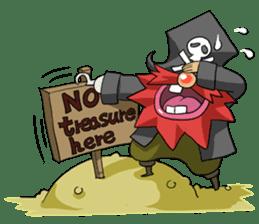 Pirate - Red Beard part3 sticker #3170092