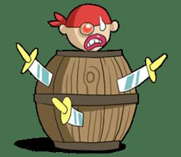 Pirate - Red Beard part3 sticker #3170103