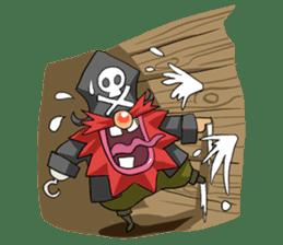 Pirate - Red Beard part3 sticker #3170104