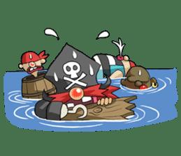 Pirate - Red Beard part3 sticker #3170106