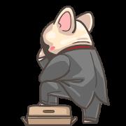 สติ๊กเกอร์ไลน์ French Bulldog-PIGU V Animated Stickers