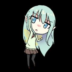 Schoolgirl Elf