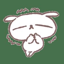 Marshmallow Puppies 4 sticker #3187176