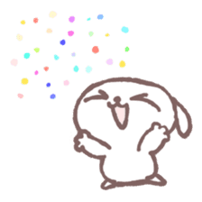 Marshmallow Puppies 4 sticker #3187184