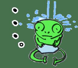 Kaeru Onsen (Frog Hotsprings) sticker #3194139