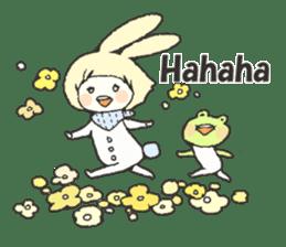 CUTE FRIENDS.(English ver.) sticker #3196377