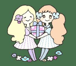 CUTE FRIENDS.(English ver.) sticker #3196407