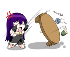 Yandere & Funny Friends (Ver. Daily)_JP sticker #3198137