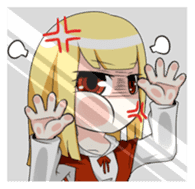 Yandere & Funny Friends (Ver. Daily)_JP sticker #3198147