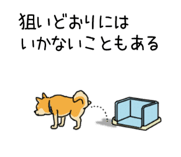 Anz the Japanese shiba dog sticker #3202191