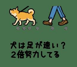Anz the Japanese shiba dog sticker #3202198