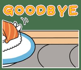 Sushi Animal English edition sticker #3205092