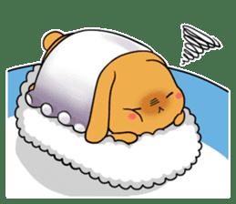 Sushi Animal English edition sticker #3205103