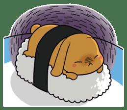 Sushi Animal English edition sticker #3205104