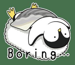 Sushi Animal English edition sticker #3205105